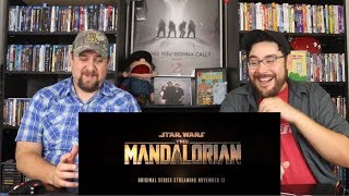 The Mandalorian - Official Trailer Reaction / Review