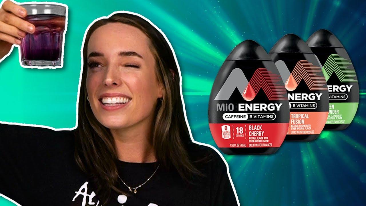 Download Irish People Try MiO Energy Shots