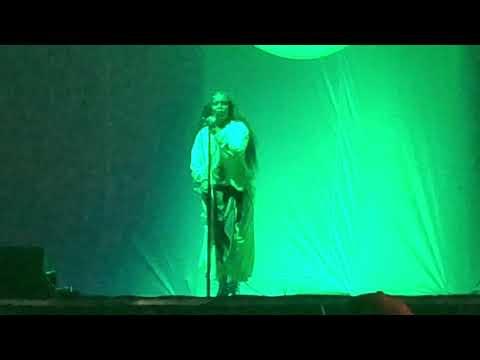 Erykah Badu performs Green Eyes at AfroPunk - August 26, 2018