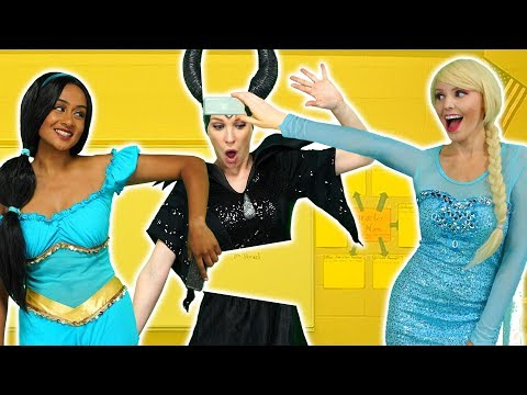 DISNEY PRINCESSES MAGIC ERASER. (Elsa and Anna, Belle, Aurora, Jasmine, Moana & Maleficent) 2019