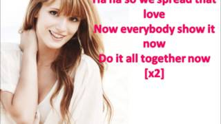 Contagious Love - Bella Thorne ft  Zendaya Lyrics