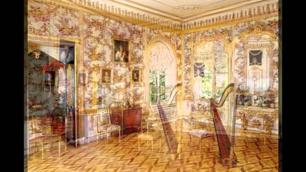 петергоф фото дворца внутри