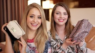 What's in My Travel Makeup Bag with Estée!