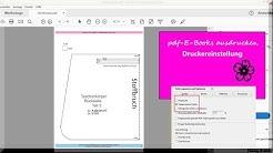 """PDF-Anleitungen ausdrucken - Druckereinstellung """"tatsächliche Größe"""""""