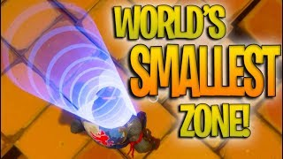 World's SMALLEST Zone EVER in Fortnite Battle Royale! + THE BEST LOADOUT YOU CAN EVER HAVE!