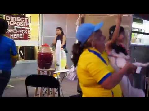 Ecuador World Cup celebrations on Roosevelt Ave in Queens