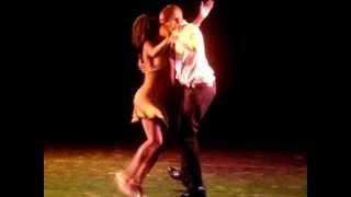 Yolanda Reis e Jimmy Oliveira - Oficina do Samba 2012 - Centro Coreográfico do Rio de Janeiro