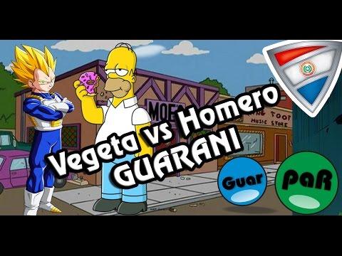 Homero VS Vegeta| Doblaje en guarani GuarpaR