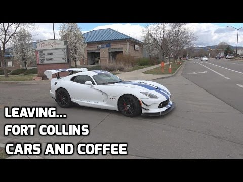 Fort Collins Cars and Coffee Roll Out! - March 2017