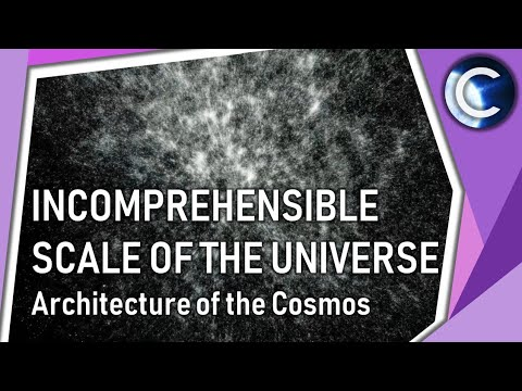 The incomprehensible scale of the Universe | Architecture of the Cosmos
