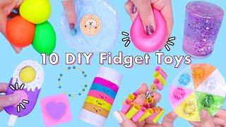 10 DIY Best Compilation TIKTOK POP IT Fidget toys! VIRAL TikTok anti-stress fidgets
