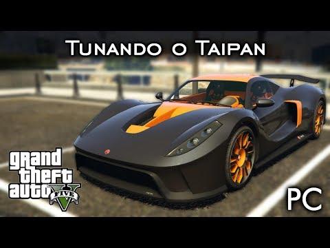 "Tunando o Cheval Taipan - ""SUAVE"" a + de 490 Km/H! 🔥 | GTA V - PC [PT-BR]"