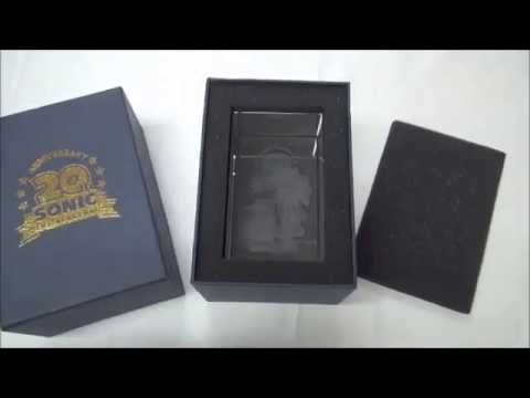Sonic The Hedgehog 20Th Anniversary Crystal Cube Limited by Akiba-Games.com