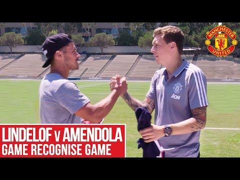 Victor Lindelof v Danny Amendola | Game Recognise Game | Manchester United