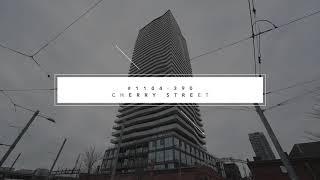 SOLD!! 1104-390 Cherry St Toronto | Virtual Tour