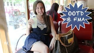 FASHION - Follow Me Around: OUTFIT OF THE DAY | Wien-FMA | OOTD