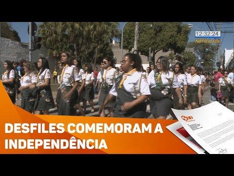 Desfiles comemoram a Independência - TV SOROCABA/SBT