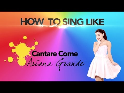 How to Sing like Ariana Grande (sub eng)