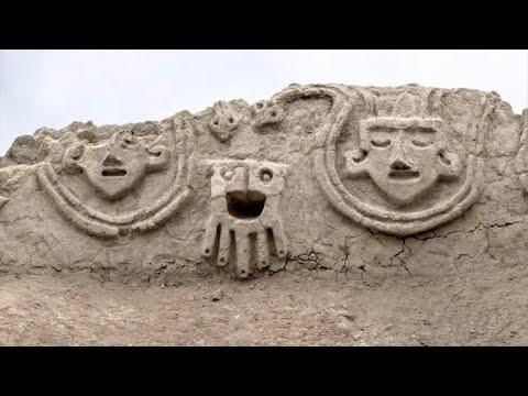 Descoberta de 3800 anos no Peru