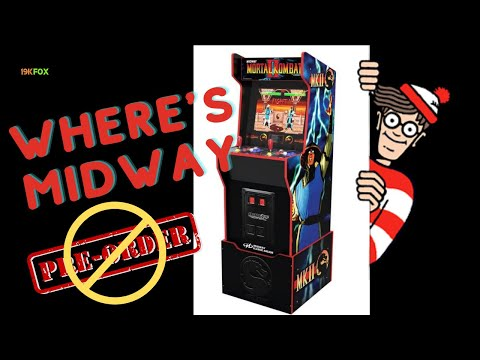 What happened to the Arcade1up Midway Legacy cabinet?? from 19kfox