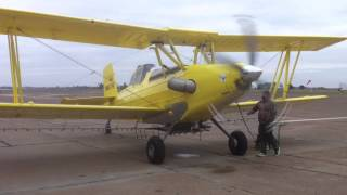 Firing Up G164C AgCat with Garrett TPE-331-10 Turbine