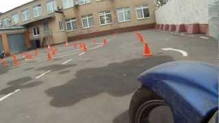 Сдача экзамена в ГАИ (ГИБДД) на мотоцикле