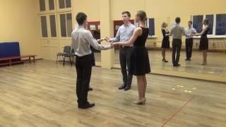 Схема танца Испанский вальс.