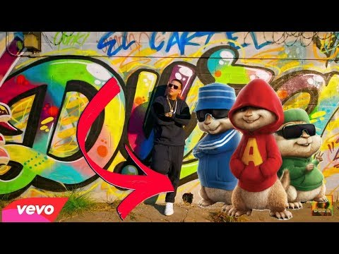 Dura - Daddy Yankee cover chipmunks