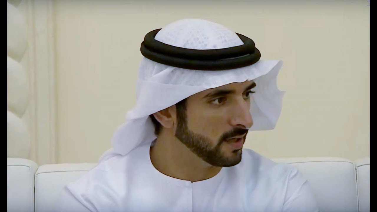 Sheikh Hamdan ( فزاع Fazza) attends wedding reception (30 September, 2018)