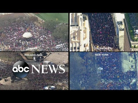 Thousands rally for Women's March