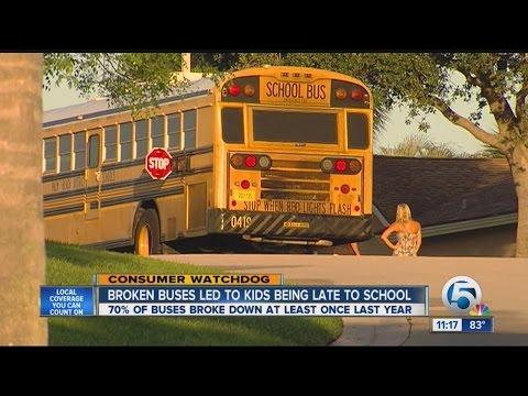Palm Beach County School Buses