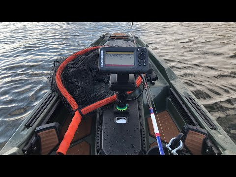 Kayak Fishing East Texas Power Plant Lake