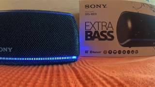 Sony srs-xb31 обзор
