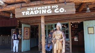 Exploring the Westward Ho Trading Company at Disneyland