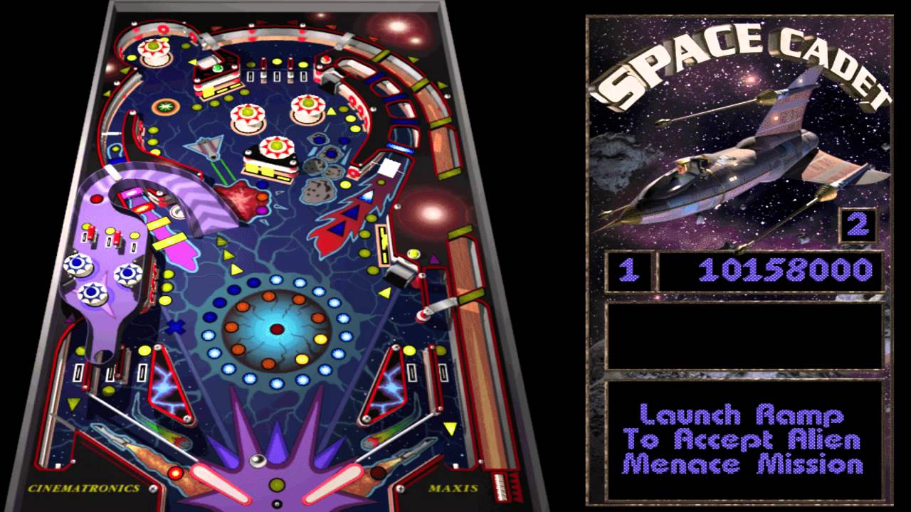 pinball cadet space