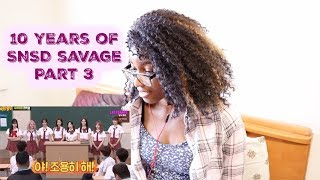 10 years of SNSD savage Part 3 [SNSD REACTION] - Stafaband
