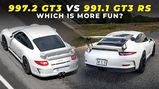 Driving a 997.2 GT3 and 991.1 GT3 RS Back-To-Back