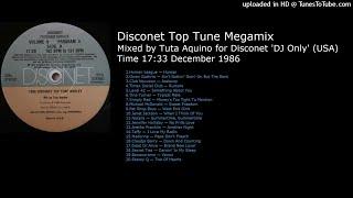 1986 Disconet Top Tune Medley (Mixed by Tuta Aquino December 1986)
