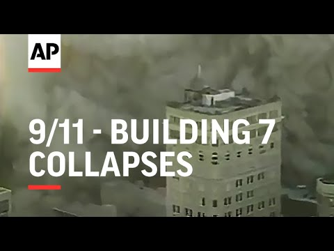 Building weakened by WTC attack collapses