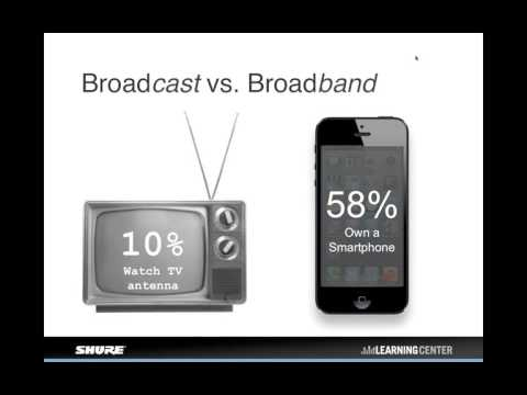 Shure Webinar: Wireless Spectrum Update  - The 600 MHz Incentive Auction