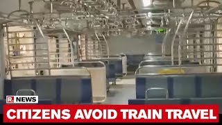 Citizens In Mumbai Avoid Local Train As Coronavirus Cases Rises In Maharashtra