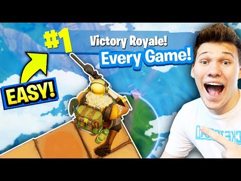 HOW TO WIN SOLO FORNITE 99.99% OF THE TIME (BEST STRATEGY) Fortnite: Battle Royale