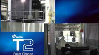 Makino T2 5-axis HMC Automatic Pallet Change