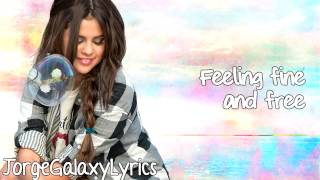 Selena Gomez - Birthday (Lyric Video)