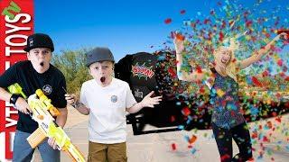 Confetti Cannon Chaos Ethan39;s Crazy Birthday Confetti Blast