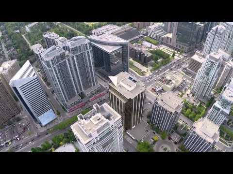 Aerial of North York : Toronto : Phantom FPV flight