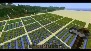 Minecraft Science: Wheat Farm Efficiency