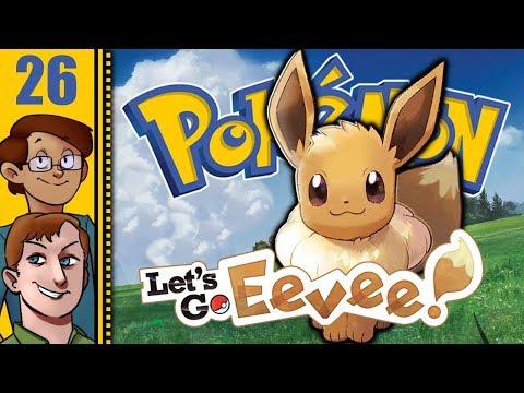 Let's Play Pokémon: Let's Go, Eevee! Co-op Part 26 - Gotta Dash!