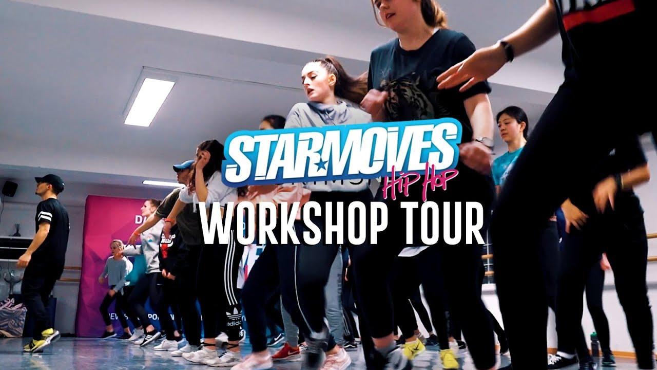 Starmoves Hip Hop Workshop Tour 2018 | JP Tarlit, Matic Zadravec & Sandra  Rozic (Recap Video)