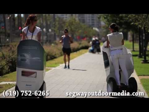 San Diego Convention Media - Advertise on Segways during your Convention in San Diego
